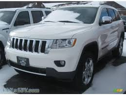 2011 jeep grand white 2011 jeep grand overland 4x4 in white 551609