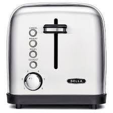 Top Rated 2 Slice Toasters Bella Classics 2 Slice Toaster Stainless Steel Target