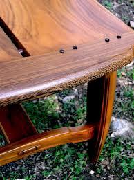 custom neo craftsman coffee table by louis fry craftsman in wood