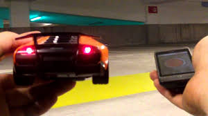 remote control car lights android controlled car w lights youtube