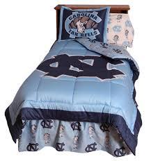 International Bedding Amazon Com North Carolina Tarheels Unc Bedding Comforter U0026 Sham