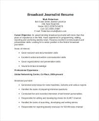 journalism resume template with personal summary statement exles journalist resume template 5 free word pdf document download