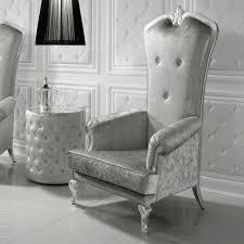 designer italian silver leaf throne armchair juliettes interiors