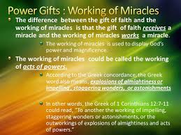faith gifts base on the holy spirit and his gifts by kenneth e hagin ppt