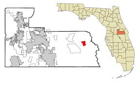 Clearwater Zip Code Map by Christmas Florida Wikipedia