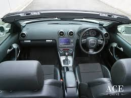 audi convertible interior rent an audi a3 convertible by ace drive car rental