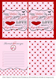 free valentines cards free printable cards notes living locurto