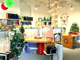 Christmas 2018 Decoration Ideas For Office Medium Size Of Decorating