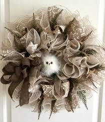 wreath ideas how to make burlap and mesh wreaths deco mesh ribbon mesh ribbon