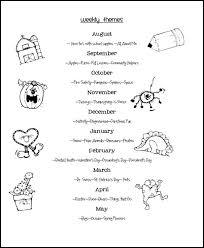 69 best preschool themes images on preschool learning