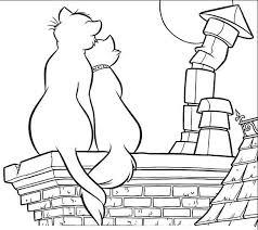 aristocats coloring printables dibujos