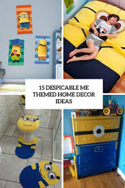 themed home decor 15 despicable me themed home decor ideas shelterness