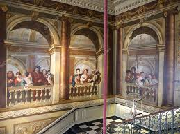 kennington palace staircase inside kensington palace london u2013 stock editorial photo