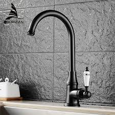 kitchen gooseneck automatic faucet china kitchen kitchen faucets single lever faucet 360 rotate deck mounted kitchen
