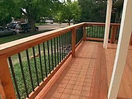 Ideas For Deck Handrail Designs Cool Ideas For Deck Handrail Designs Outdoor Garden Modern Deck