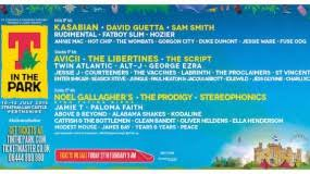 t in the park 2017 cartel entradas y horarios