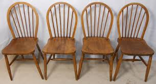 Ercol Dining Chair Ercol Set Of Four Elm Kichen Dining Chairs Sold