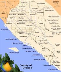 california map laguna orange county beaches huntington newport balboa laguna san