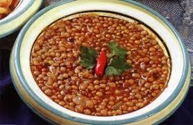 lentilles cuisine recette de les lentilles à la marocaine une recette de cuisine