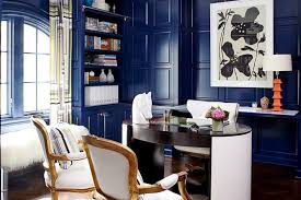 Eclectic Home Decor 10 Eclectic Home Office Ideas In Cheerful Blue Minimalist