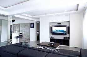 Wall Mounted Glass Display Cabinet Singapore 10 Elegantly Clean Cut Tv Console And Feature Wall Design Ideas