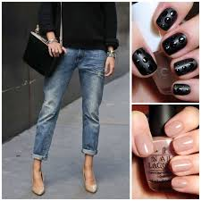 a little bit of lacquer fall knits nails