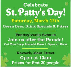 st patrick u0027s day guide 2016 north delawhere happening