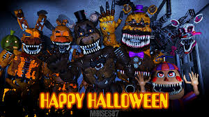 happy halloween cover photos happy halloween fnaf poster 1 by moises87 on deviantart