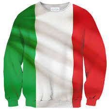 Flag Italy Italian Flag Sweater Shelfies