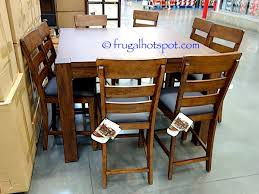 universal furniture broadmoore 9 piece counter height dining set