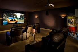 Superb Diy Home Theater Room Paint Color Amp Type Pictures