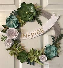 welcome home wreath kit inspired paper craftsinspired paper crafts