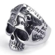 mens rings skull images Mens skull rings ebay JPG