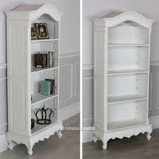 White Wooden Bookcase by Tall White Bookcase Ira Design