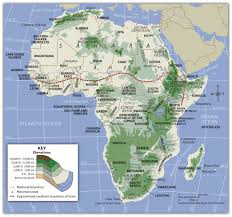 Southern Africa Map Quiz by Africa Physical Map Quiz Game Images