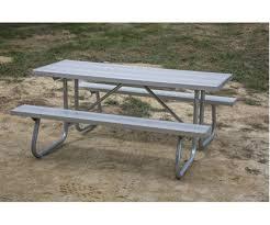 Picnic Benches For Schools Aluminum Picnic Tables Metal Picnic Tables