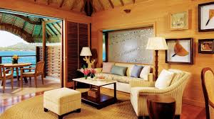 Polynesian Home Decor by Bora Bora Resort Naned Best In The South Pacific At Four Seasons