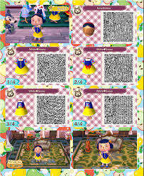 acnl qr code hair animal crossing new leaf hair guide bow of hair color animal