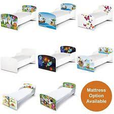 Toddler Beds Northern Ireland Children U0027s Pirates Theme Beds With Mattresses Ebay
