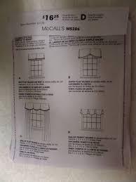 box pleat valance pattern mccall s 5286 window treatments box pleat valance pattern mccall s 5286 window treatments trumpet valance sewing patterns home decor patterns whilethecatnaps