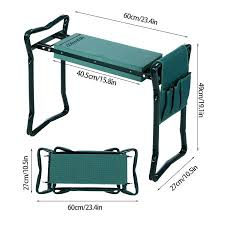Garden Kneeler Bench High Quality Foldable Garden Kneeler Bench Seat With Tool Pouch