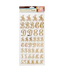 Monogram Letter Find The Monogram Letter Stickers By Recollections At Michaels