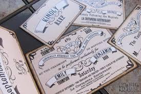 designs vintage inspired wedding invitations with 1920 wedding