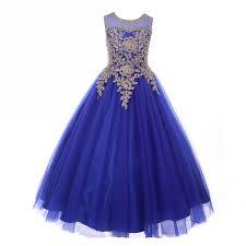 royal blue tulle big royal blue gold rhinestone cording tulle junior