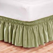 Elasticated Valance Elastic Bed Skirt Ebay