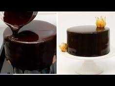 chocolate mirror glaze glaçage brillant au chocolat recipe