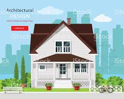 House Flat Design by Modern Graphic Architectural Design Colorful Cute House With Yard
