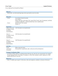 resume templates for openoffice template resume template for openoffice sle office