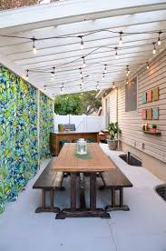 diy backyard kitchen and outdoor oasis on a budget