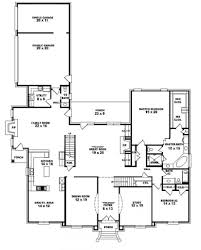 four bedroom plan house floor plans story simple with 2 4 striking